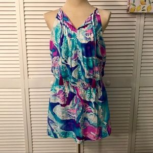 NWT Lilly Pulitzer Minda Silk Dress